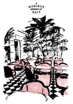 HOTEL MAGIQUE Invite 'A Magique brunch at SUIT'
