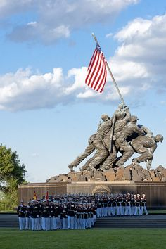 Marine Corps Memorial By Cpl. Jeremy Ware #USMC