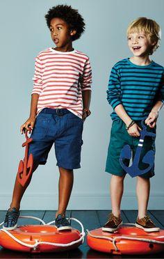 #kids #boy #style #stripes