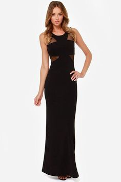 When it comes to the Lasting Impressions Black Maxi Dress, one look is all it takes to catapult y...