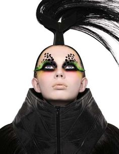 'Fresh' by Paco Peregrin and Kattaca is a photo set that features futuristic fashion and out-there hair