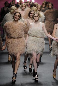 Sonia Rykiel Fall 2010 Ready-to-Wear Fashion Show - Egle Tvirbutaite (NEXT) and Kori Richardson (IMG)