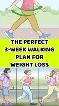 Diet And Weight Loss The Perfect 3-Week Walking Plan For Weight Loss! Weight Loss Challenge, Weight Loss Plans, Weight Loss Program, Best Weight Loss, Losing Weight Tips, Weight Gain, Weight Loss Tips, How To Lose Weight Fast, Reduce Weight