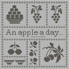 ru / Photo n ° 584 - Freebies - Syberia Filet Crochet, Cross Stitch Patterns, Embroidery Patterns, Monochrome, Primitive, Needlework, Zoom Zoom, Charts, Ph