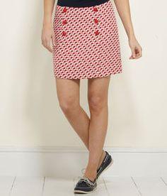 Women's Skirts: Geo Fish Skirt for Women - Vineyard Vines