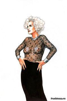 Fashion иллюстратор- Ignasi Monreal