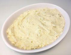 Cremet blomkålsmos med flødeost, smør og havsalt - Low-Carb / LCHF