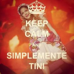keep calm and simplemente tini