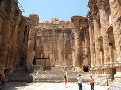 Temples at Baalbek, 1st and 2nd century AD