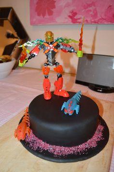 Lego hero factory birthday cake