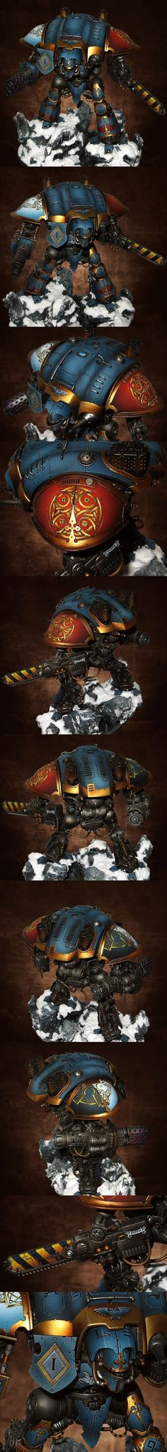 40k - Space Wolves Imperial Knight by Lan Studio