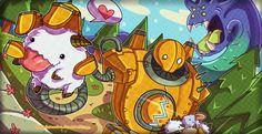Blitzcrank's Poro Roundup! by Polkadotzombie