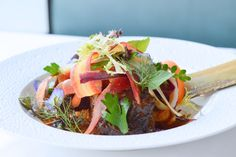 Cherry Cola Braised Beef Shortrib at The Oval Room DC