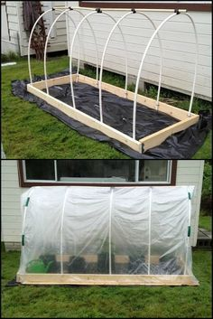 How To Build A Raised Garden Bed With Cover This raised garden bed with cover allows you to grow garden produce, while keeping them protected all year around.