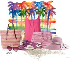 """""""Lifes a Beach 2"""" by mrsbro on Polyvore"""
