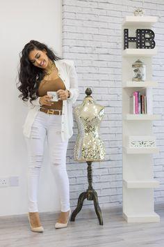 GRWM Huda Beauty HQ Office Chic!