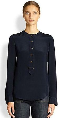 Derek Lam  Silk Blouse || Saks Fifth Avenue