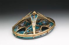 Gothic Revival Brooch (The Sublime and The Beautiful) by Diane Falkenhagen