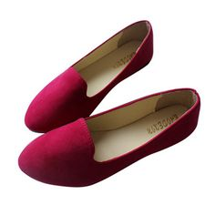 Lovely Flat Shoes Item Type: Flats Department Name: Adult Shoe Width: Medium(B,M) Season: Spring/Autumn Platform Height: 0-3cm With Platforms: Yes Closure Type: Slip-On Toe Shape: Round Toe Insole Mat