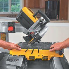 DEWALT D24000 1.5-Horsepower 10-Inch Wet Tile Saw:Amazon:Home Improvement