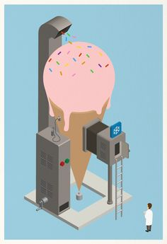 Ice Pop ! by Mother Volcano, via Behance