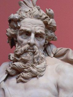 Easy Clay Sculptures : Neptune: Lambert-Sigisbert Adam 1725