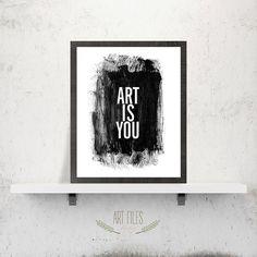 Art print printable poster inspirational print  by ArtFilesVicky