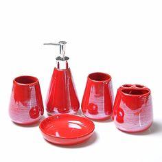 WYMBS Christmas Gift Simple Europeanstyle Ceramic Bathroom ToiletriesH. Bathroom  AccessoriesChristmas Gifts