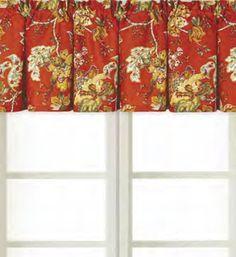 Florentine Curtain Valance 72 x 15.5