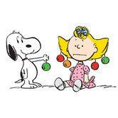 Found it at Wayfair - Peanuts Snoopy Sally Ornaments Canvas Art