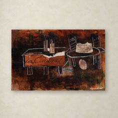 Still Life VI by Miguel Paredes Graphic Art on Wrapped Canvas