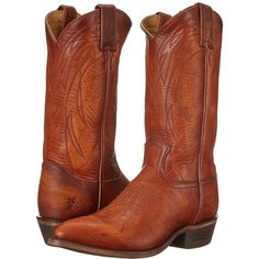 774b5b75a211 Frye Billy Pull On Cowboy Boots ( 278) ❤ liked on Polyvore featuring shoes