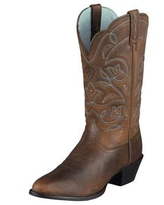 Heritage western R toe boot- ARIAT