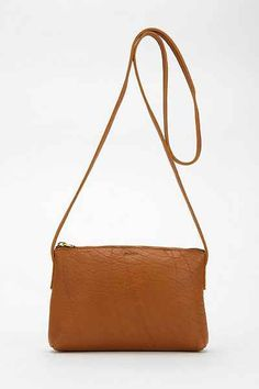 BAGGU X UO Leather Crossbody Bag - Urban Outfitters