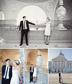 San Francisco City Hall Wedding by Lilia Photography. http://www.lilia.com