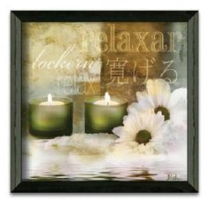 Timeless Frames Relaxation II Art Print Wall Art...would be nice in my bathroom