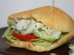 BOKIT (Guadeloupean recipe): Recipe of BOKIT (Guadeloupean recipe) – Marmiton - Monte Cristo Sandwich, World Street Food, Baguette, Around The World Food, Food Porn, Creole Recipes, Island Food, Pizza, Exotic Food