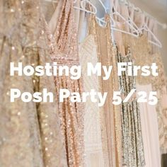 I'm Hosting My First Posh Party 5/25 I am excited to announce I'll be hosting my first posh party! Theme hasn't been given to me yet, but once it is I will announce it for you all to tag me in only TWO themed items to be considered for my host picks. Please tag me only the 2 times to keep it fair so that I can look at everyone's closet and not be bombarded with too many tags. (If I am tagged more than twice by a closet for host pick consideration I won't look at the closet). Other