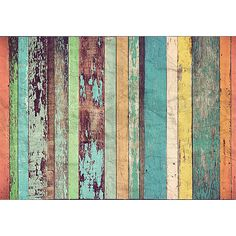 You could totally do this with BoHo!! DM966 - Colored Wood Wall Mural - by Ideal Decor