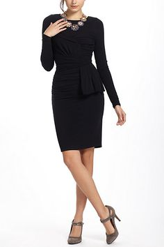 If I were a leeetle bit thinner, I think I'd like this (and peplum styles in general)