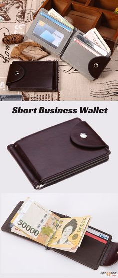 US$9.55 + Free shipping. Men Wallet, PU Wallet, Leather Wallet, Short Wallet, Business Wallet, Coin Bag, Card Holder, Key Chains. Color: Coffee, Grey. Thin and Light, Suits Your Pocket Well.