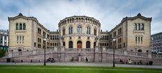 Stortinget (Norwegian Parliament) Oslo, Norway.