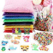 New 6000pcs 5mm HAMA//PERLER Beads DIY Kids Fun Craft 24 Colours Set Puzzle Gift