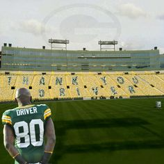 Donald Driver! My favorite is gone :(