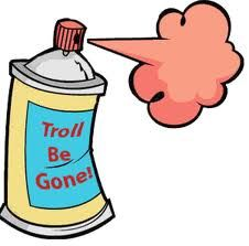 Image result for photo of troll spray
