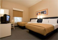 Habitacion doble Hotel City Express Finsa