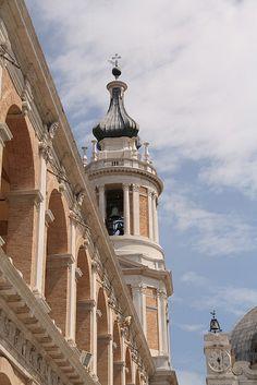 The Sanctuary of Loreto in Le Marche - Italy. #destinazionemarche.