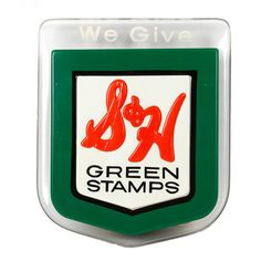 Phat Heads: Lighted S & H Green Stamp Sign, at 20% off!