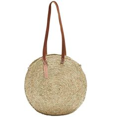 Shop Round wicker basket long leather handle french baskets workshop, Moroccan handwoven baskets,