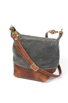 66b305319eae Wood Faulk Field Bag North Coast Grey – Bridge   Burn Womens Tote Bags